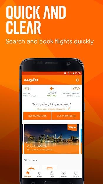 easyJet: Travel App Android App Screenshot