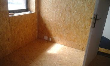Photo: místnost pro hosty se rýsuje