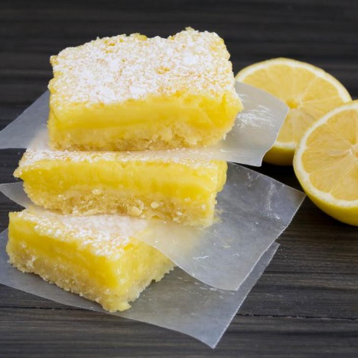 Classic Lemon Bars Recipe | Yummly