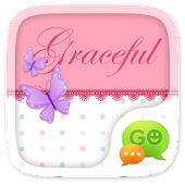 (FREE) GO SMS GRACEFUL THEME