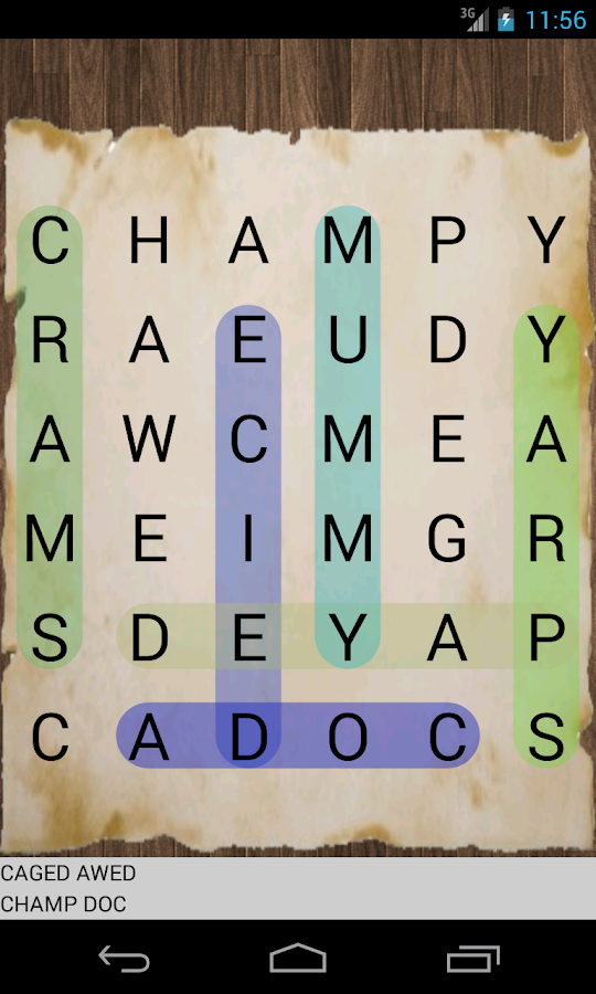GramaMix english word search- screenshot