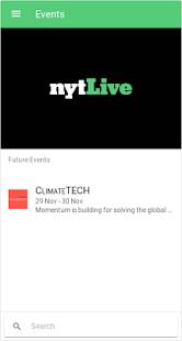 NYTLive Conferences - náhled