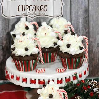 Delicious Hot Chocolate Cupcakes.