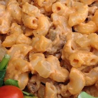 Cheese and Hamburger Macaroni Recipe