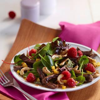 Fruchtiger Rindfleischsalat