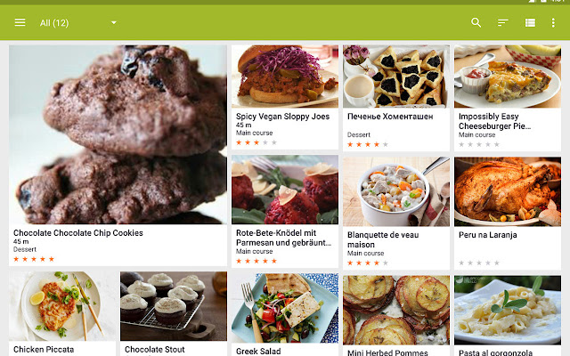 My cookbook chrome web store store all your favorite recipes in one place my cookbook is a recipe manager with search and import features my cookbook lets forumfinder Choice Image