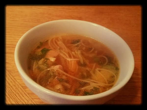 Easy Thai Inspired Chicken Noodle Soup Recipe