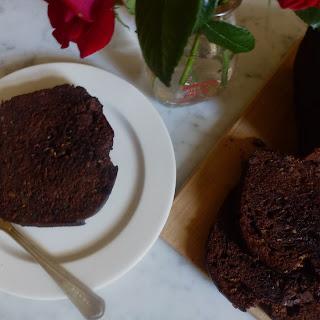 Double Chocolate Zucchini Quick Bread