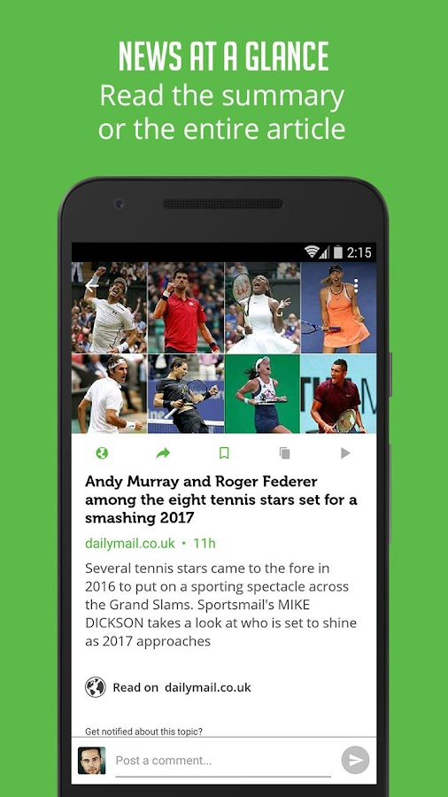 Tennis News - Sportfusion- screenshot