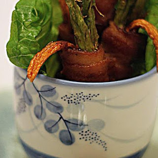 Deep Fry Bacon Wrap With Garlic Thyme Sauce