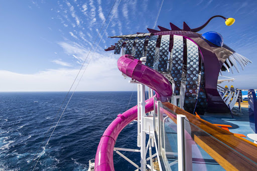 Step into the maw of the Ultimate Abyss on Harmony of the Seas, the tallest waterslide at sea.