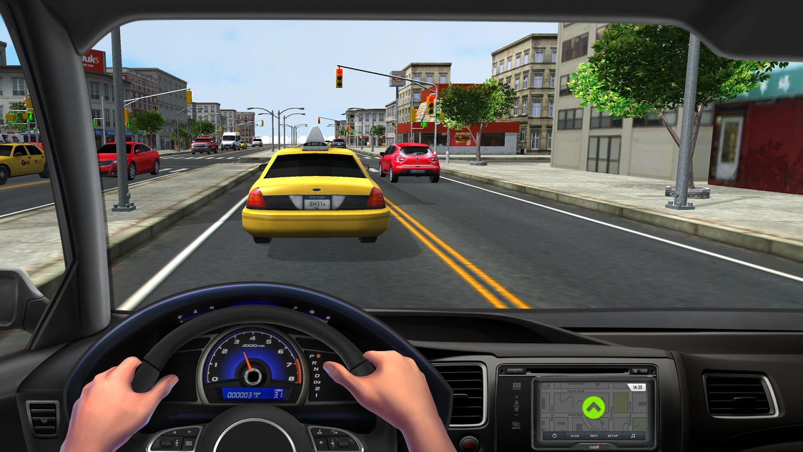 City Driving 3D- screenshot