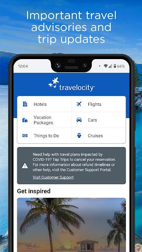 Travelocity Hotels & Flights 20.37.0 screenshots 1