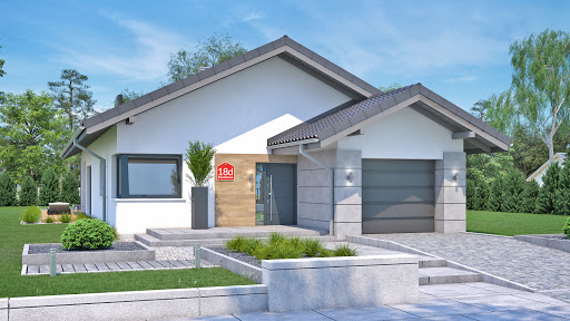 projekt Dom przy Pastelowej 18 D