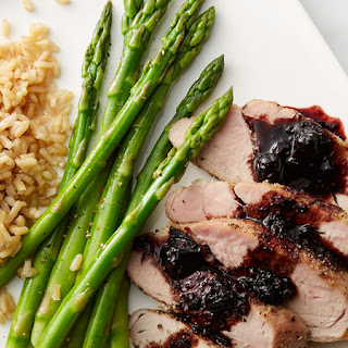 Blueberry Balsamic Pork Tenderloin Recipe
