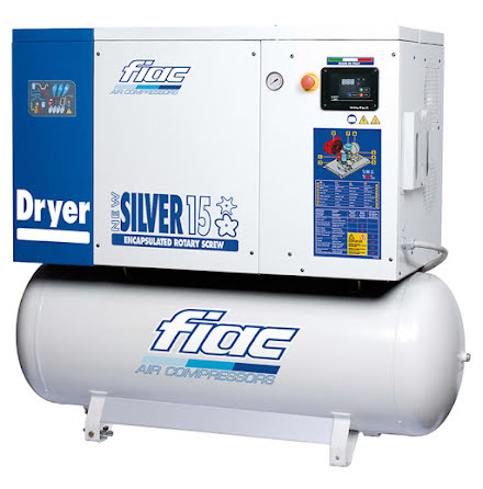 Skruvkompressor Fiac New Silver 15