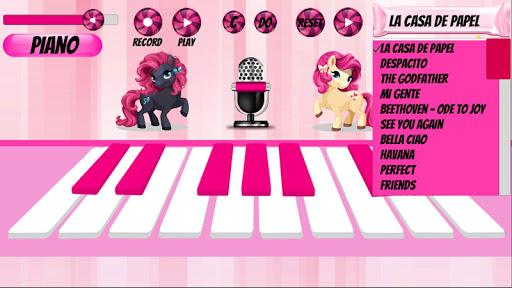 Girl Piano : Pink Piano android2mod screenshots 1