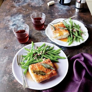 Weight Watchers Prosciutto And Sage–Wrapped Mahimahi