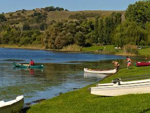 Photo: E subito iniziano un giro sul lago..