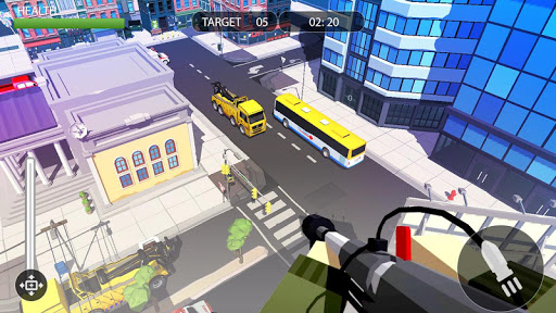 PIXEL SNIPER FORCE GUN ATTACK apkpoly screenshots 5
