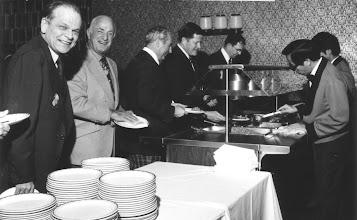 Photo: John McCaughey, Len Greenough, George Carscallen, Al Oakes, Dalton McIntyre