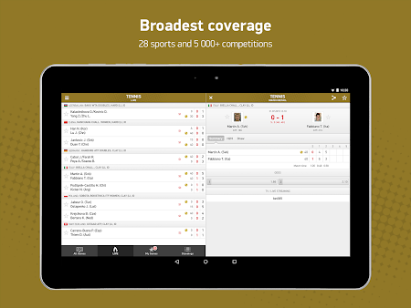 FlashScore 2.2.0 screenshot 192478