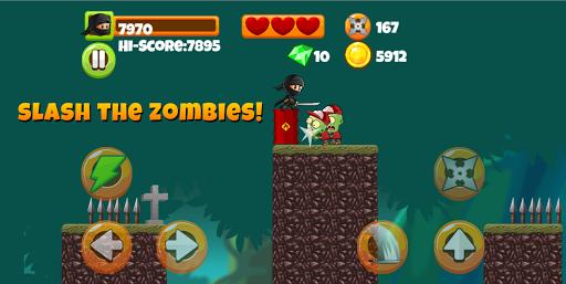 Ninja Kid vs Zombies - Special