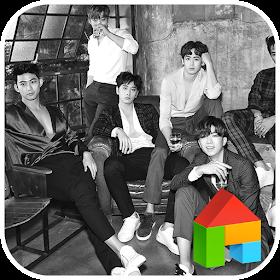 2PM NO.5 LINE Launcher theme