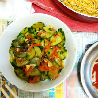 Chinese Cucumber Salad .
