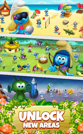 Smurfs Bubble Shooter Story 2.15.050204 screenshots 20