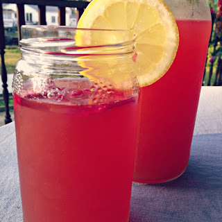 Rose Water Iced Tea.