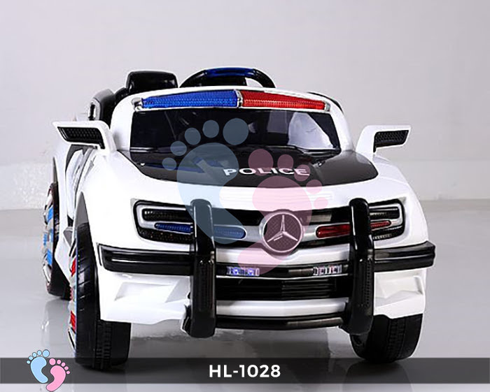 Xe ô tô điện cảnh sát HL-1028 12