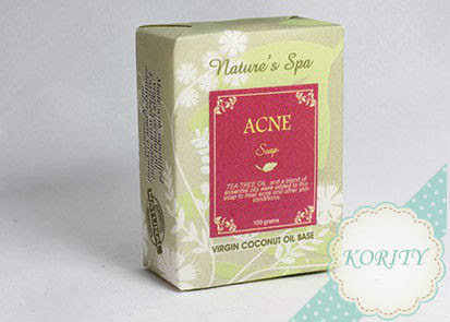 Acne Soap package