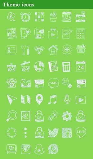 Four-Leaf Clover +HOME Theme 1.0.0 Windows u7528 4