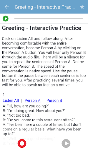TalkEnglish Offline screenshot 4