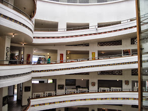 Photo: Several floors of art and crafts for sale