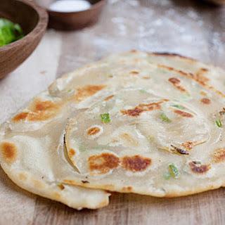 Green Onion (Scallion) Pancake.