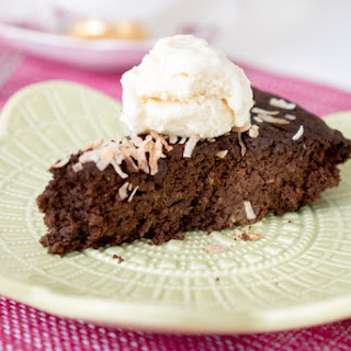 Gluten-free Chocolate Quinoa Cake.