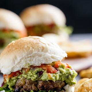Carne Asada Guacamole Burgers Recipe