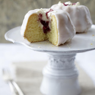 Cherry and Mascarpone Kugelhopf Cakes