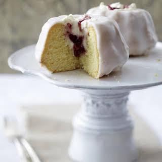 Cherry and Mascarpone Kugelhopf Cakes.