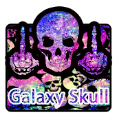Galaxy Skull Keyboard