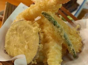 Shrimp And Veggie Tempura Recipe