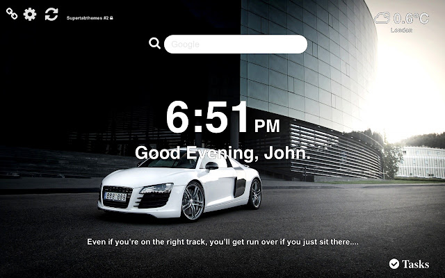 Audi R8 Wallpapers and New Tab