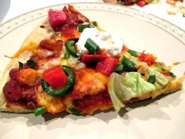 ~ Chicken Taco Pizza ~