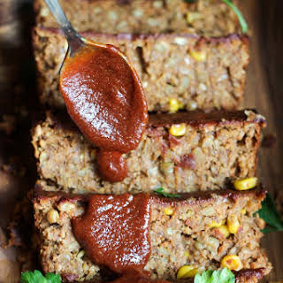 Oat-Free Spicy Barbecue Lentil Loaf.