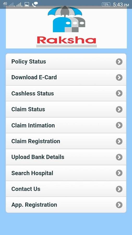 Raksha Tpa Android Apps On Google Play