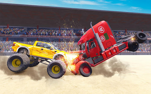 Extreme Demolition Derby Truck Crash 1.4 screenshots 2