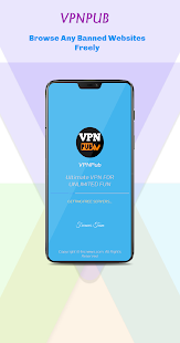 VPNPub - Free VPN Screenshot