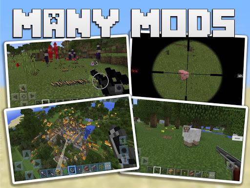 玩免費書籍APP|下載Guns Mods for Minecraft PE app不用錢|硬是要APP